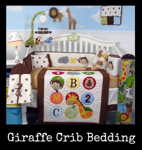 Giraffe Crib Bedding Sets