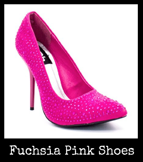 Fuchsia Pink Shoes