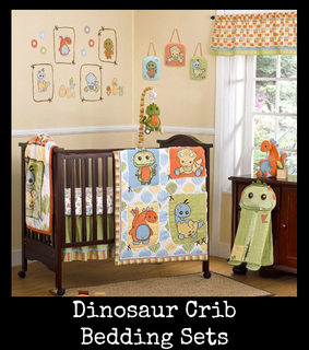 Dinosaur Crib Bedding Sets