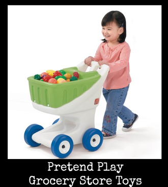 Pretend Play Grocery Store Toys for Kids