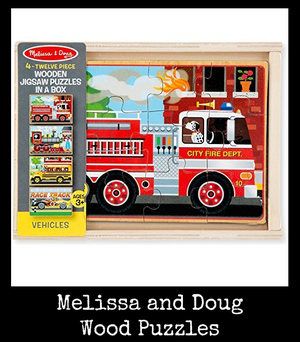 Melissa and Doug Wood Puzzles