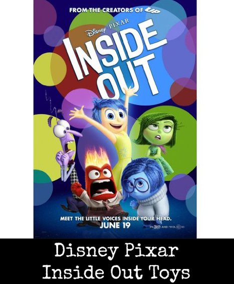 Disney Pixar Inside Out Toys